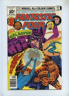 Fantastic Four #173 - Marvel 1976 - VFN - Pence - Galactus
