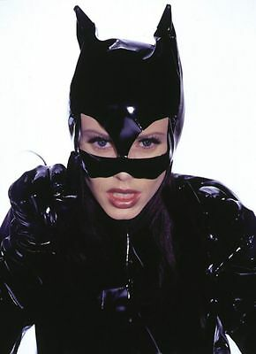 HALLOWEEN ADULT BATMAN BEGINS KITTY MASK LATEX MASK  BAT GIRL CAT WOMEN  - Batman Mask Girl