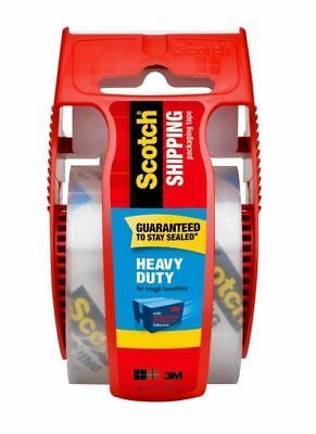 Scotch Heavy-duty Shipping Tape With Dispenser 1 78 X 22.2 Yd. Clear