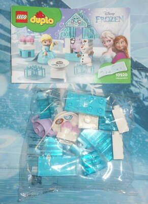 Genuine LEGO DUPLO FROZEN Tea Party Set New Open Package NO ELSA nor OLAF FIGURE