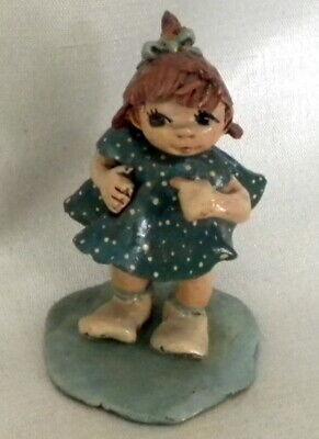Bonnie Pixie Girl Miniature Figurine, Psalm 27:1, Green Bay, WI