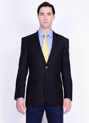 Extra Fine Wool 2 Button (Mantoni  Blazer NAVY  2 button for Men sport Jacket Classic 100% extra fine)