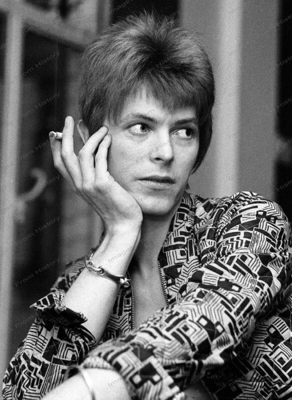 8x10 Print David Bowie 1972 #DB18