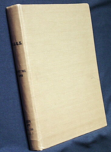 USGS GEOLOGY of SOUTHEASTERN WISCONSIN 1918 with LARGE COLORFUL MAPS Hard Cover