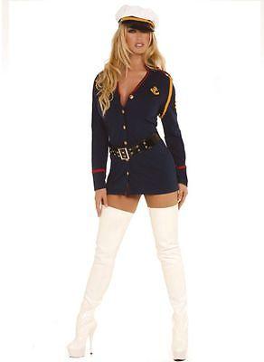 Gentlemans Offizier Sexy Cosplay Erwachsene Plus Damen Kostüm - Sexy Plus Kostüm