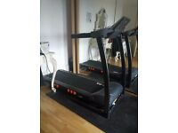JLL S300 Digital Folding Treadmill, barely used, mint condition, with a Rubber Mat!