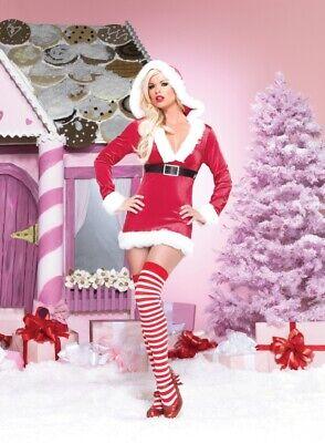 Naughty Mrs Claus (New! Naughty Noel Costume - XL  Santa Helper, Mrs. Claus, Leg Avenue)
