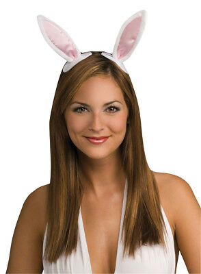 Bunny Ears With On Clips Animals Costume Accessories Halloween Rubies](Animals On Halloween)