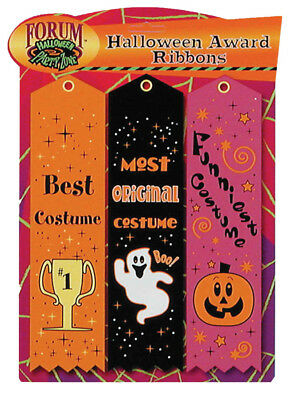 Halloween Themed Contest Winner Ribbon Set Of 3 Forum Novelties (Winner Halloween)