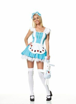 ALICE GIRL COSTUME LARGE Leg Avenue UA83064 xs,s,m,l,xl - Leg Avenue Alice Costume