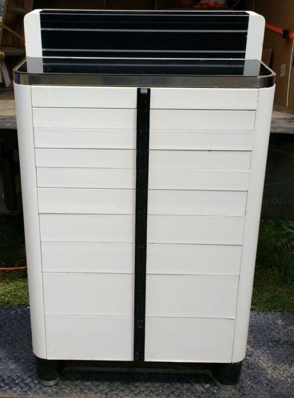Vintage 10-Drawer Dental Cabinet by the American Cabinet Company
