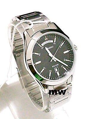 Latest Bona fide Casio MTP-1370D-1A1 Men's 50M Day Date Analog Quartz Medicate Watch