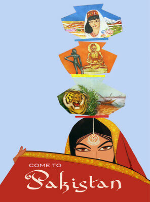 6672.Come to Pakistan Travel POSTER.Office.Home room Decoration.Graphic (Office Graphics Design)