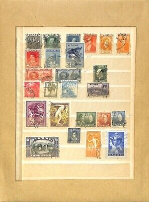 [OP7799] Worldwide lot of stamps on 12 pages