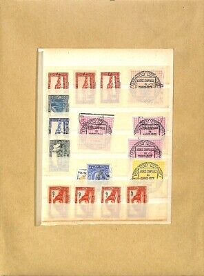 [OP7791] Worldwide lot of stamps on 12 pages