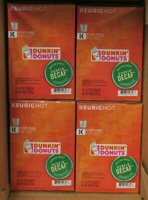 Dunkin Donuts Decaf Coffee 96 Count K-Cups Best By 2/2019