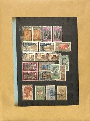 [OP7756] Worldwide lot of stamps on 12 pages