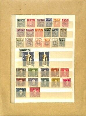 [OP7797] Worldwide lot of stamps on 12 pages
