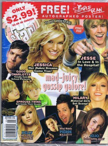 ORIGINAL Vintage SEALED September 2005 Pop Star Magazine Jessica Simpson