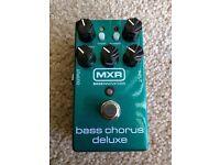 MXR - Bass Chorus Deluxe Pedal