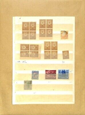 [OP7796] Worldwide lot of stamps on 12 pages
