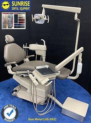 Adec 1021 Decade Dental Radius Operatory Package W Cuspidor - Seamless Vinyl Up