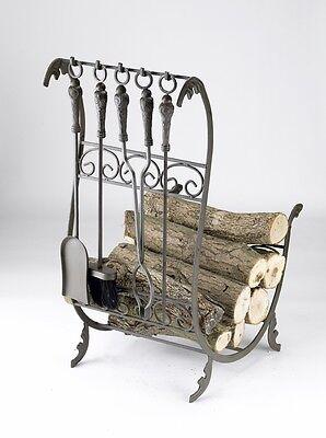 'downton Abbey' Log Basket Or Log Store