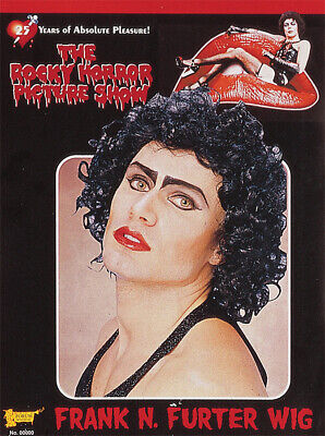Rocky Horror Characters (Frank N Furter Wig Rocky Horror Picture Show Black Curly)