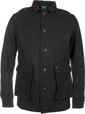 MA STRUM Men's 3 Layer Black Wool Camp Jacket Size: XXL EXCELLENT Condition for sale  Shipping to Ireland