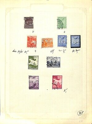 [OP7737] Worldwide lot of stamps on 12 pages