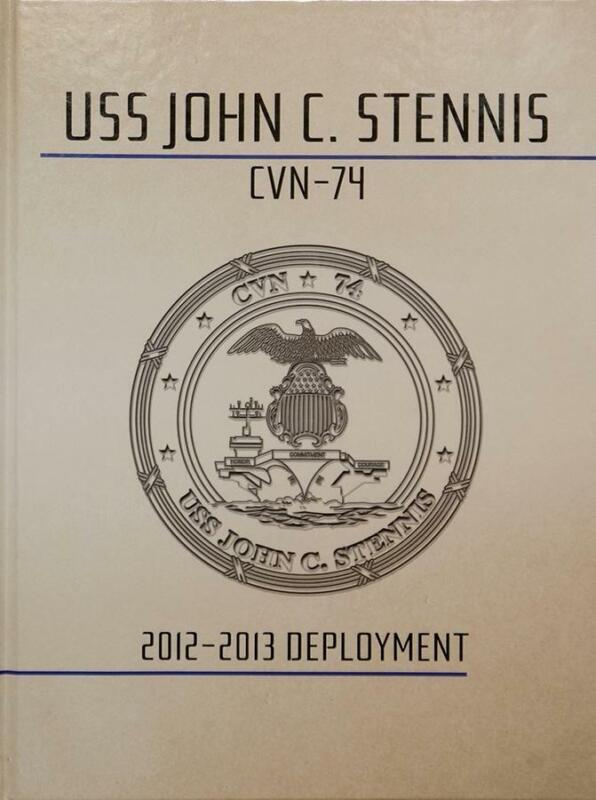 USS John C. Stennis (CVN-74) 2012-2013 Deployment Cruisebook