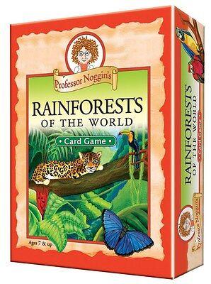 Professor Noggin's Rainforests of the World Card Game (Professor Noggin)
