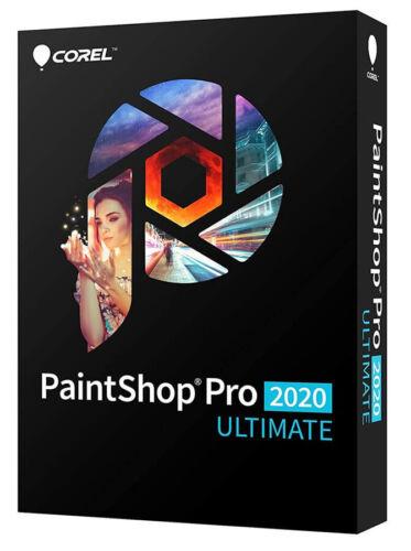 Corel PaintShop Pro 2020 Ultimate - New Retail Box