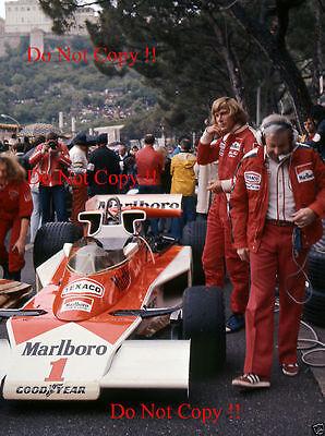 James Hunt McLaren F1 Portrait Monaco Grand Prix 1977 Photograph 4