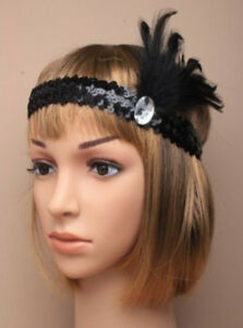 indian hair styles for party 1920s feather headband ebay 3477 | $ 35