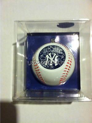 New York Yankees Mini Baseball Replica Christmas Ornament Mini Baseball Ornament