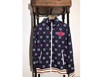 Brand name gucci Leapord technical tracksuit with tags