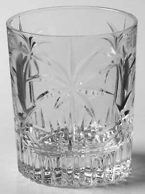 Godinger PALM Double Old Fashioned Glass 4429230 Palm Double Old Fashioned