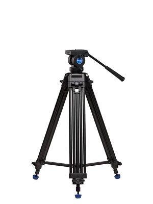 Benro KH25N Aluminium Videostativ Kit mit Fluid-Videokopf 155 cm  Video Tripod  Universal Tripod Kit