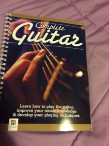 Learn Guitar book and cd