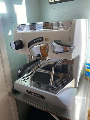 Rancilio Epoca S1 Espresso Machine - White With Nuova Simonelli Grinder