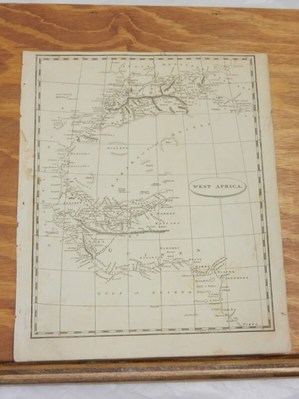 1812 Antique Map//WEST AFRICA