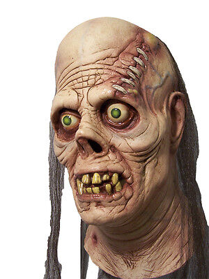 HALLOWEEN ADULT LATEX  HORROR GHASTLY GHOUL  MONSTER  MASK PROP (Ghastly Ghoul)