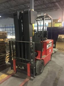High End RAYMOND and Toyota Forklifts