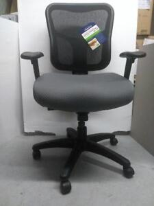 Temp By Raynor Tempur-Pedic TP8200 Ergonomic Mid-Back Fabric Drafting Chair Grey (Assembled)