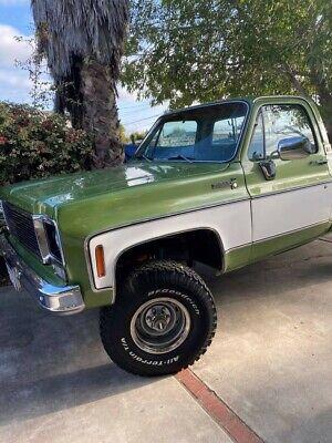 1975 Chevrolet C/K Pickup 1500 Deluxe 1975 Chevrolet K10 Scottsdale Short Bed Pickup Truck 4X4 5.7L V8 Restored 1500