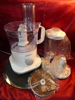 KENWOOD FPP23 750W FOOD PROCESSOR Various attachments & blades Barely Used/Clean