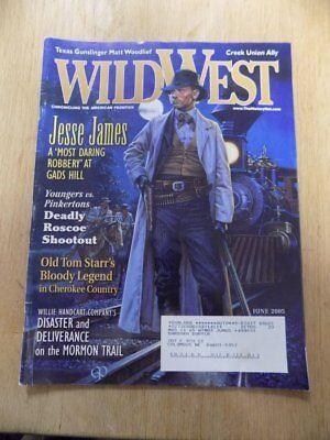 (VINTAGE MAGAZINE~WILD WEST~JUNE 2005~AMERICAN FRONTIER~JESSE JAMES)