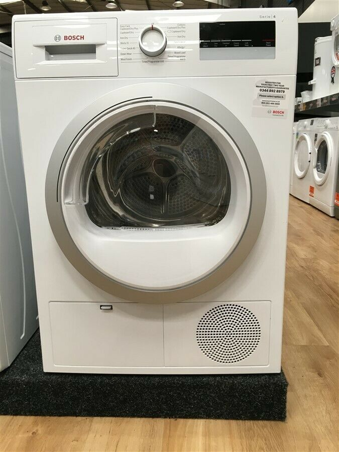 Bosch Serie 4 WTN85200GB 7kg Condenser Dryer - White (IP-IS828010483)