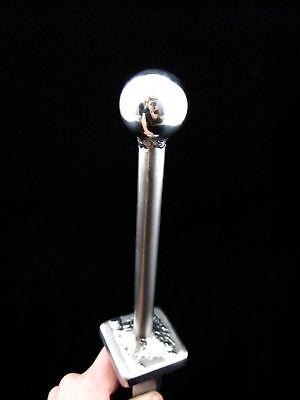 Hardy 2 Chrome Steel Ball Anvil Tool Blacksmith Hardie
